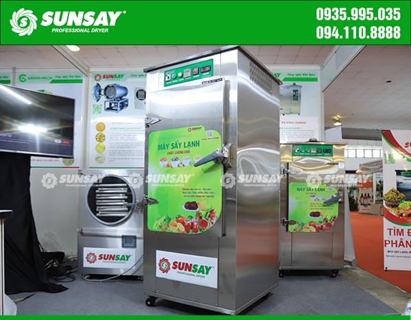 Máy sấy lạnh SUNSAY Việt Nam ứng dụng công nghệ sấy lạnh hiện đại